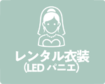 貸衣装(LED パニエ)