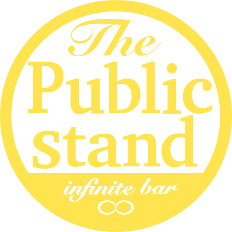 Public stand logo yellow
