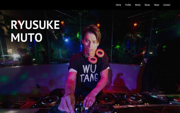 DJ RYUSUKE MUTO による The Public DJ MIX 契約開始
